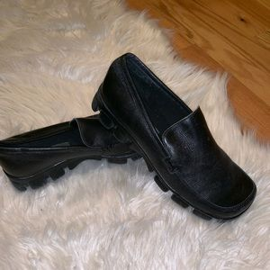 Wanted Black Leather Shoes